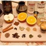Ингредиенты для приготовления глинтвейна