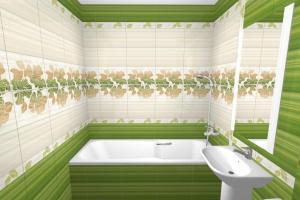 Купить плитку в ванну – сделать свои банные процедуры ещё приятнее